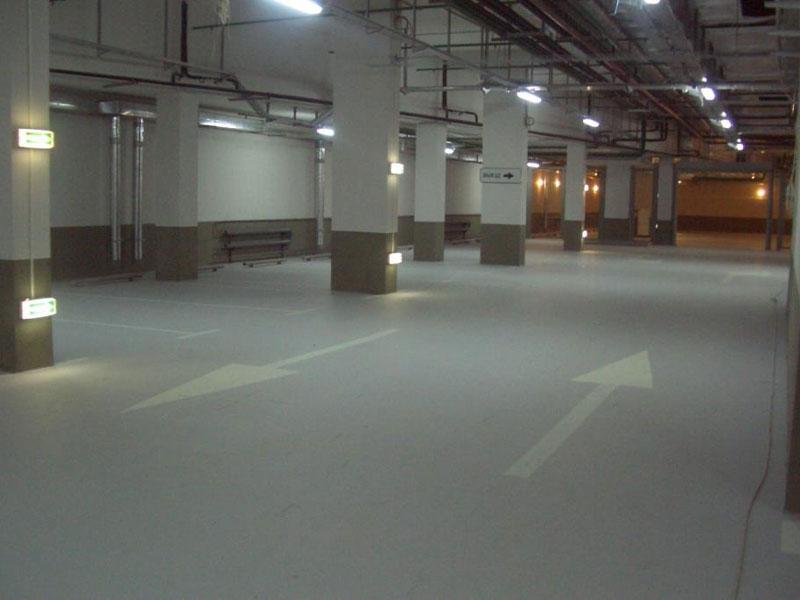 полы для гаража